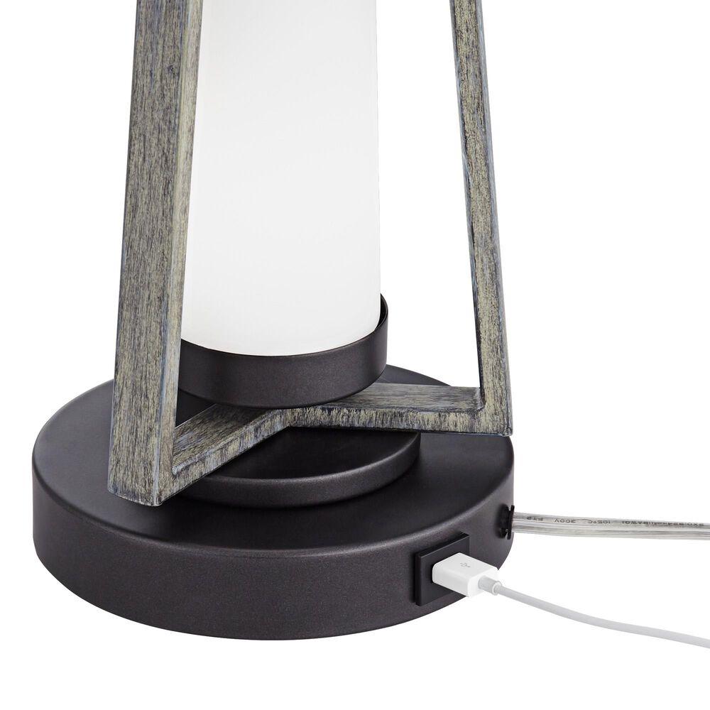 Pacific Coast Lighting City Ports Table Lamp in Gun Metal, , large