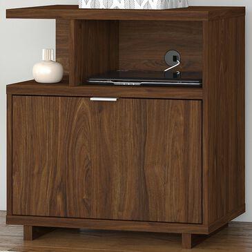 Bush Madison Avenue Lateral File Cabinet in Modern Walnut, , large