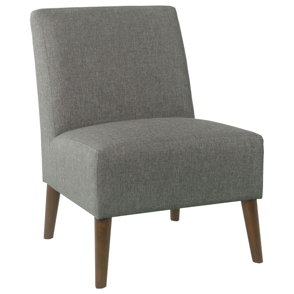 Kinfine HomePop Armless Accent Chair in Gray, , large