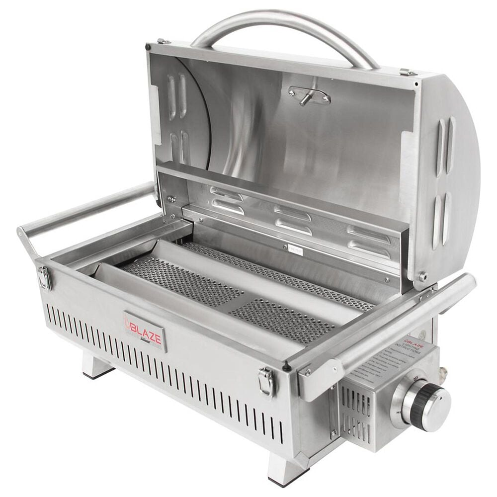 Blaze Pro Portable Marine Grade Liquid Propane Gas Grill in Stainless Steel, , large