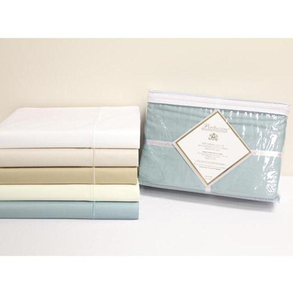 HN International 600 Thread Count King Ocean Blue Sheet Set, , large