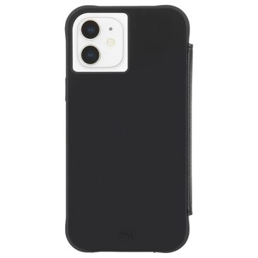 Case-Mate Wallet Folio Case With Micropel For Apple iPhone 12 Mini in Black, , large