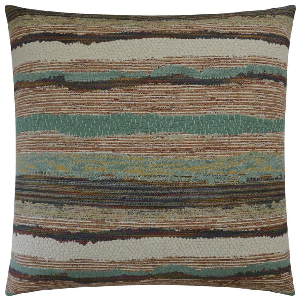 """D.V.Kap Inc 24"""" Feather Down Decorative Throw Pillow in Chindi-Multicolor, , large"""