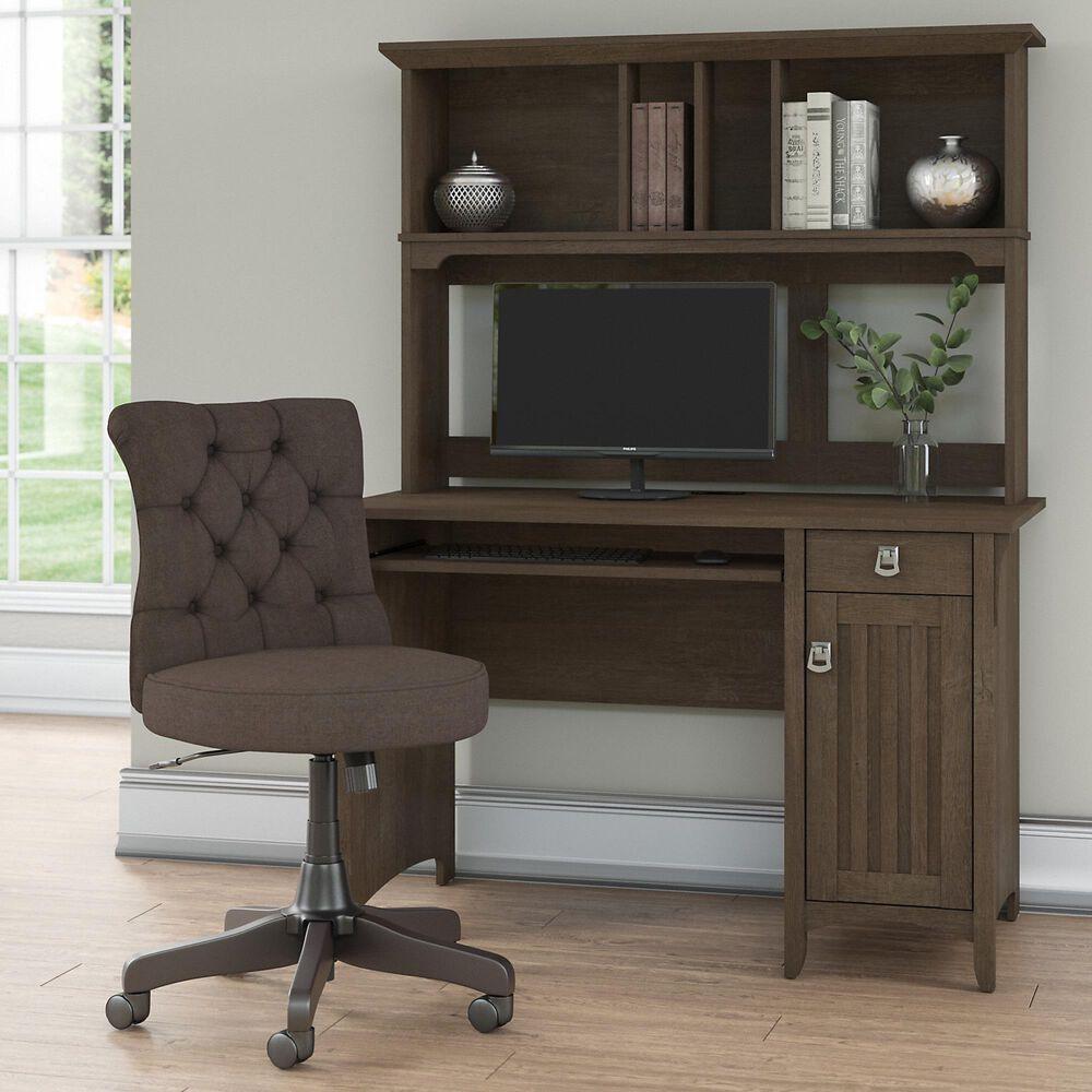 Bush Salinas 3 Piece Office Desk Set in Ash Brown, , large