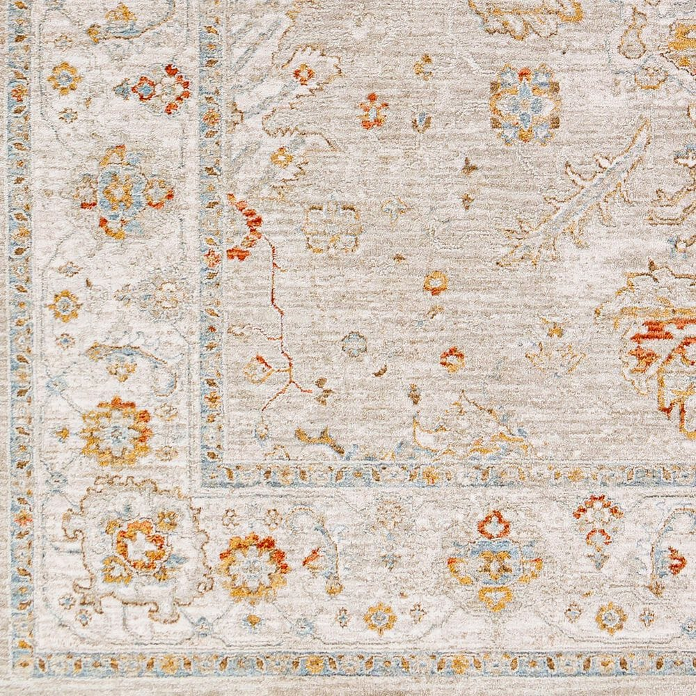 "Surya Avant Garde AVT-2319 2'7"" x 4' Orange, Blue and Beige Area Rug, , large"
