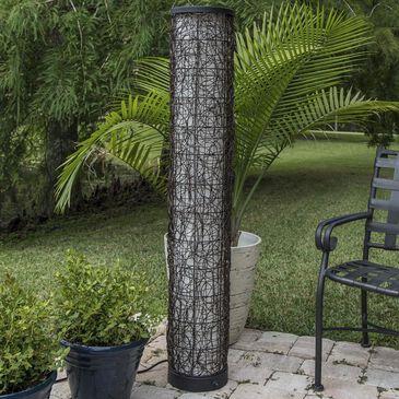 Kenroy Tanglewood Outdoor Floor Lamp in Bronze, , large