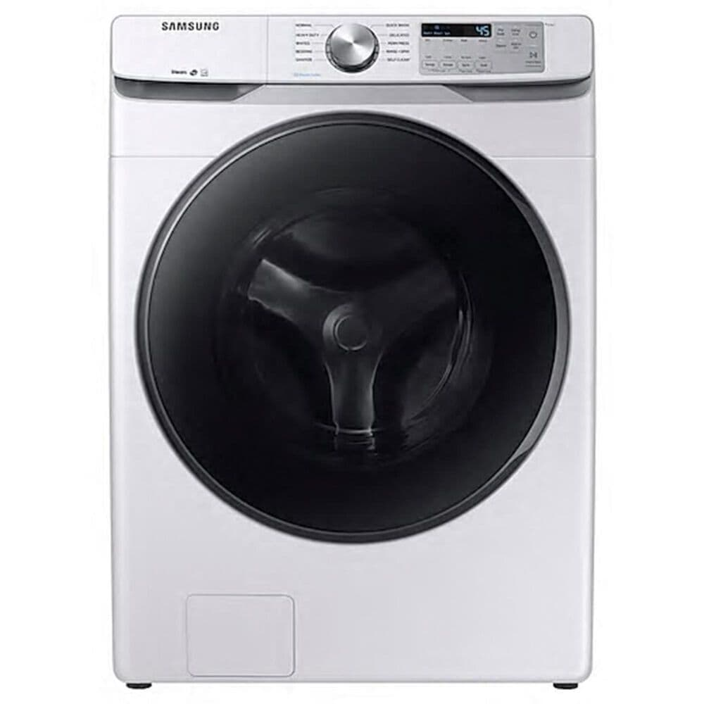 Samsung 4.5 Cu. Ft. Front Load Washer with Steam in White , , large