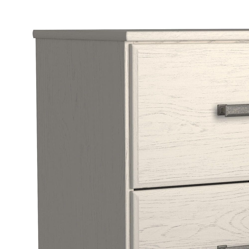 Signature Design by Ashley Stelsie 2 Drawer Nightstand in White, , large