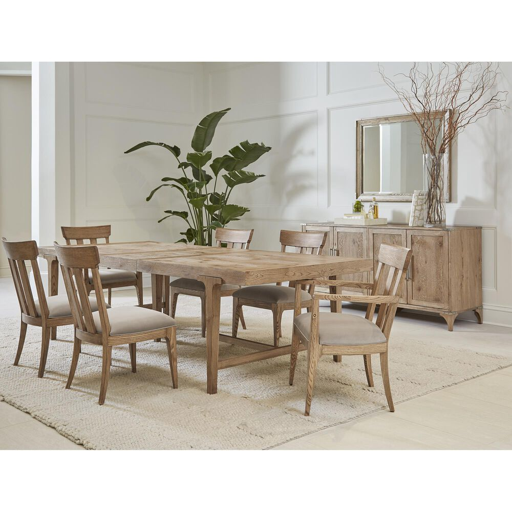 Vantage Passage Rectangular Dining Table in Light Oak, , large