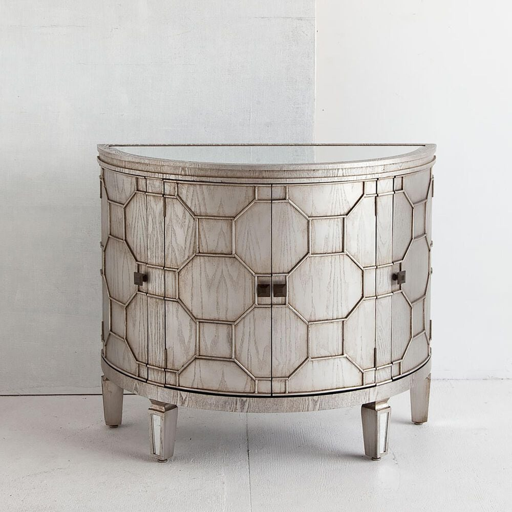 Mercana Oppsola Cabinet in Silver, , large