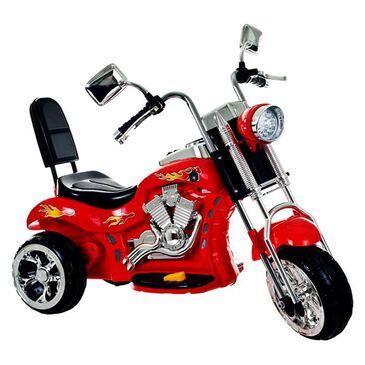 Timberlake Lil' Rider Rocking Three Wheel Chopper Motorcycle in Red, , large