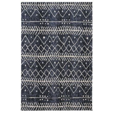 Feizy Rugs Colton 8318F 5' x 8' Denim Area Rug, , large