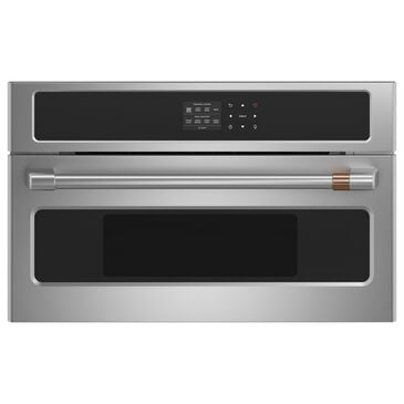 """Cafe 30 """" Single Steam Companion Oven in Stainless Steel, , large"""