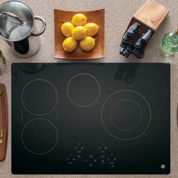 "GE Appliances 30"" Built-In Touch Control Electric Cooktop, , large"