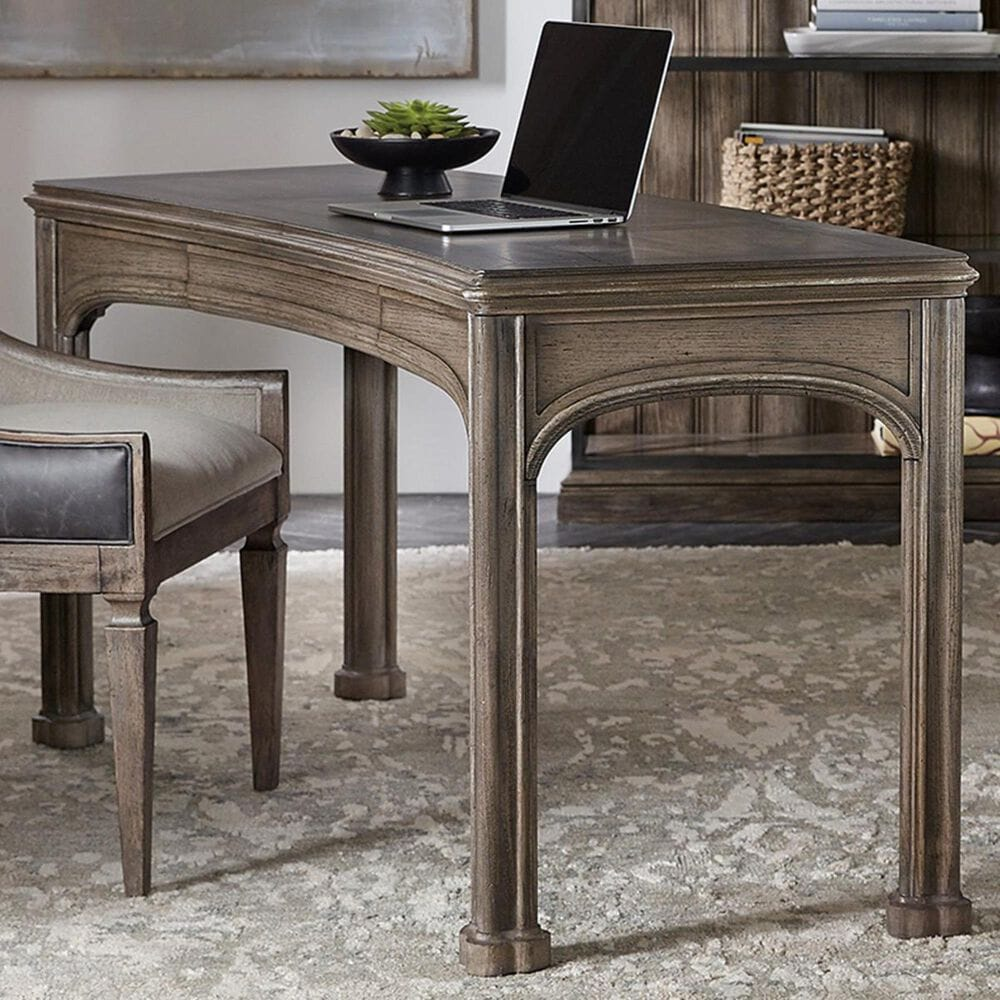 Hooker Furniture Woodlands Writing Desk in Heathered Lambswool, , large