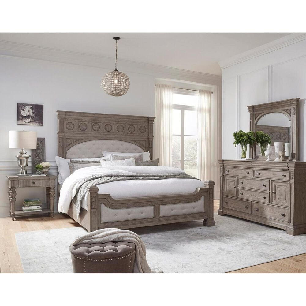 Chapel Hill Kingsbury Dresser in Gray and Brown, , large