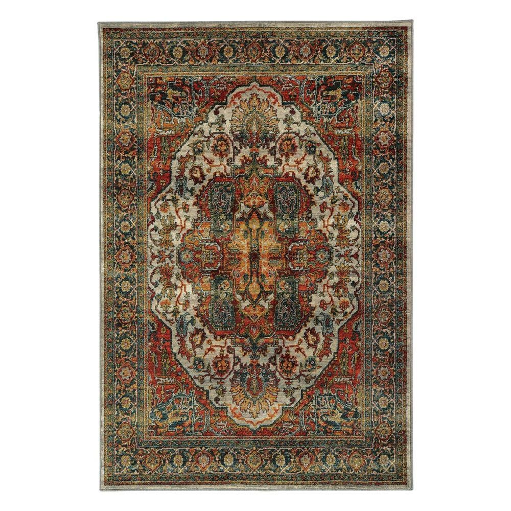 "Oriental Weavers Sedona 6382B 6'7"" x 9'1"" Brown Area Rug, , large"