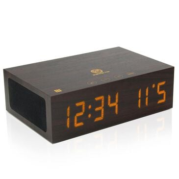 Go Groove Wireless Bluetooth Alarm Clock with USB Charger, , large