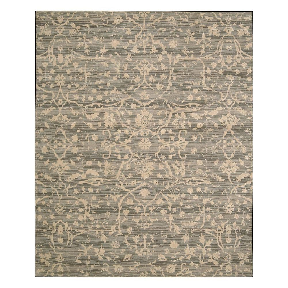 """Nourison Silk Elements SKE22 5'6"""" x 8' Taupe Area Rug, , large"""