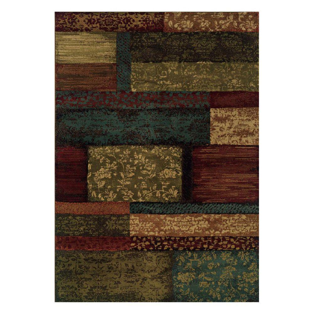 "Oriental Weavers Emerson 2480C 1'10"" x 3'3"" Brown Scatter Rug, , large"