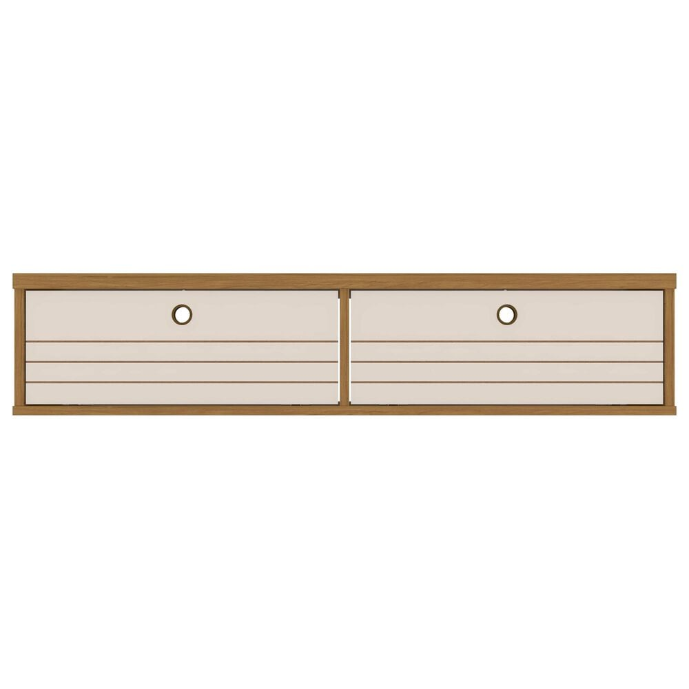 """Manhattan Liberty 42.28"""" Floating Entertainment Center in Cinnamon/Off White, , large"""
