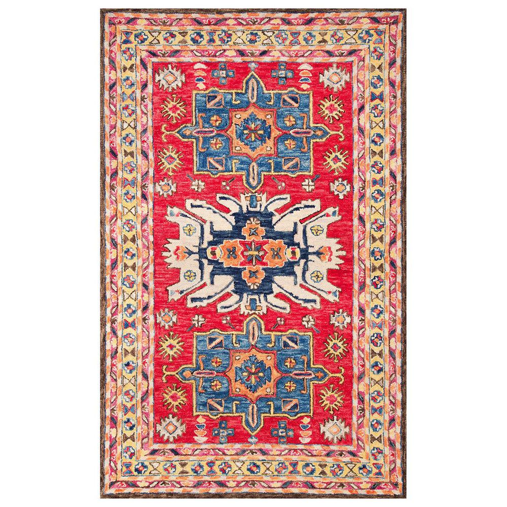 nuLOOM Shanti MJSH04A 5' x 8' Red Area Rug, , large
