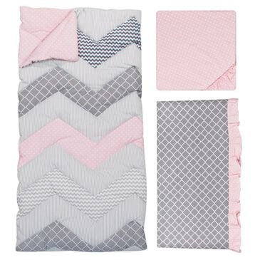 Trend Lab LLC Cotton Candy 3-Piece Crib Bedding Set, , large