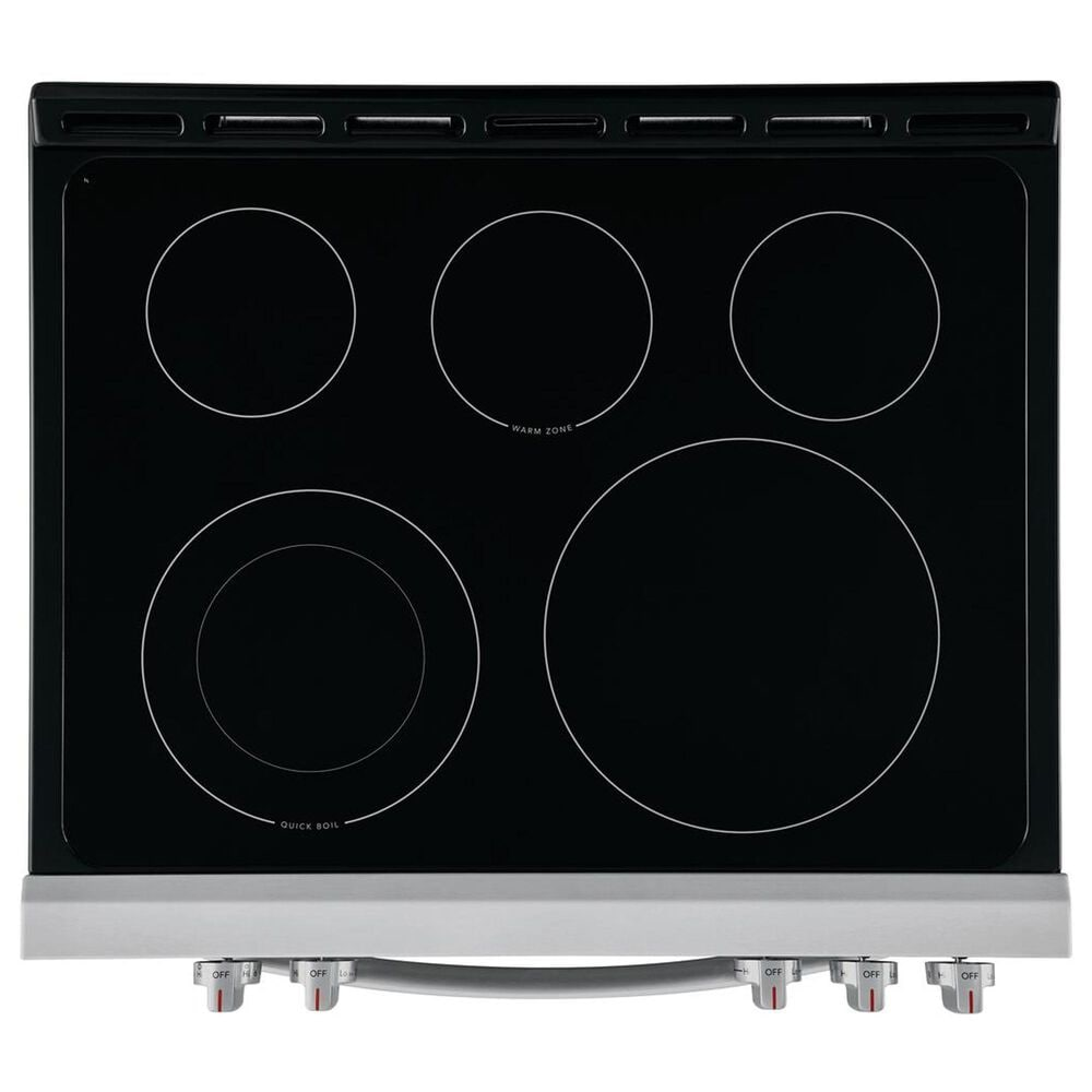 Frigidaire 30'' Front Control Freestanding Electric Range - Stainless Steel, , large