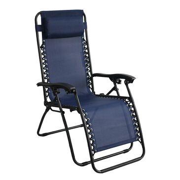 Loni Birch Anti Gravity Chair in Royal Blue, , large