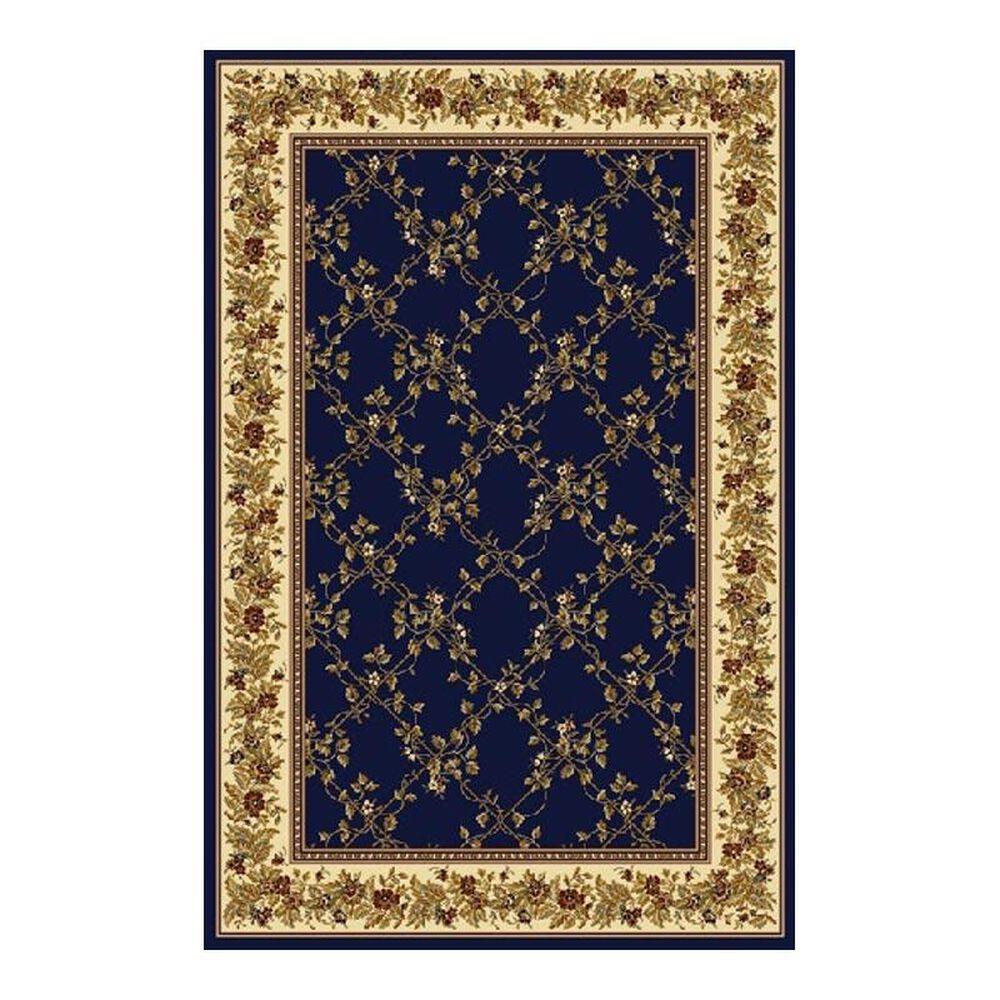 "Radici USA Noble 1427 7'9"" x 9'6"" Blue Area Rug, , large"