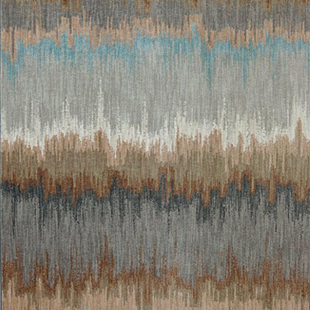 Karastan Euphoria Cashel 90261 8' x 11' Abyss Blue Area Rug, , large