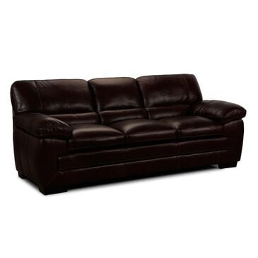 at HOME Leather Sofa in Amarillo Walnut, , large