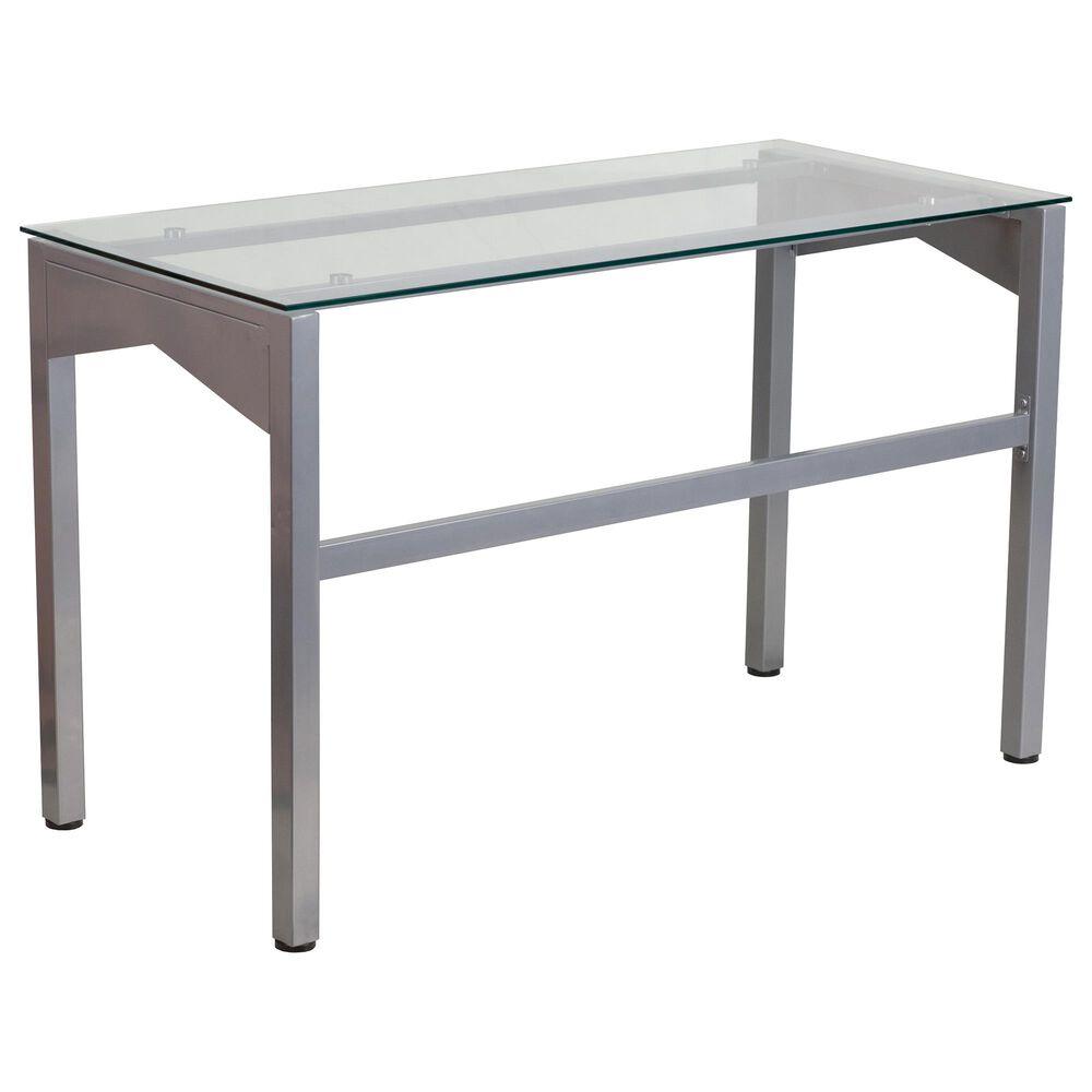 Flash Furniture Desk in Gray, , large