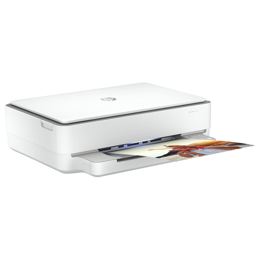 HP Envy 6055e All-In-One Printer in White, , large