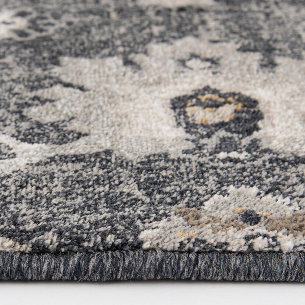 Central Oriental Adore Beatrix 9276DBC 8' x 10' Deep Blue and Cement Area Rug, , large