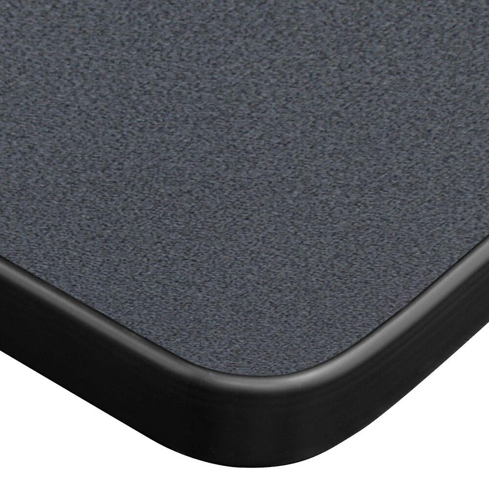 "Regency Global Sourcing Kobe 48"" x 30"" Mobile Training Table in Grey, , large"
