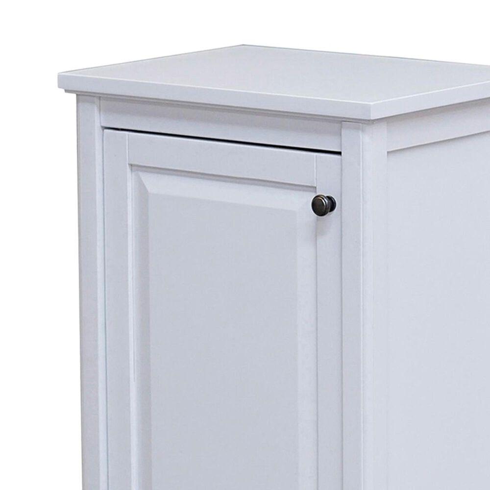 "Bolton Furniture Dorset 29"" One Door Bath Storage Cabinet in White, , large"