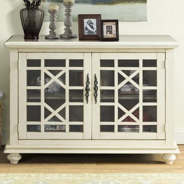 Martin Svensson Home Orsey Small Spaces TV Stand in Antique White, , large