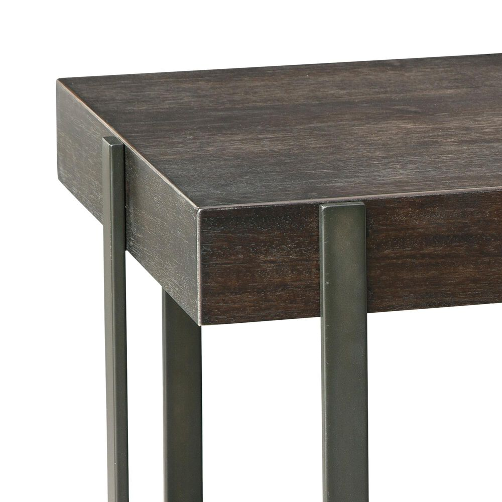 Signature Design by Ashley Drewing Square End Table in Dark Brown, , large