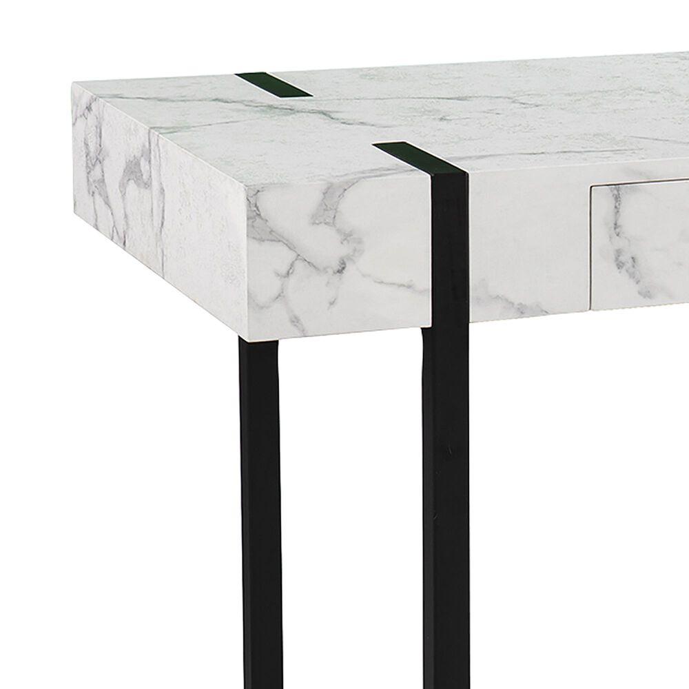 Southern Enterprises Rangley Desk in Black/White, , large