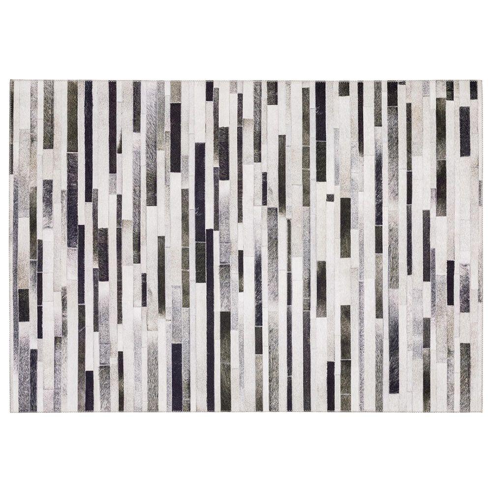 Oriental Weavers Myers Park  MYP19 2' x 8' Grey Runner, , large