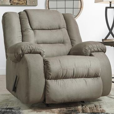 Signature Design by Ashley McCade Manual Rocker Recliner in Cobblestone, , large