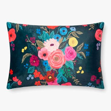 Rifle Paper Co. Floral Pillow in Midnight, , large