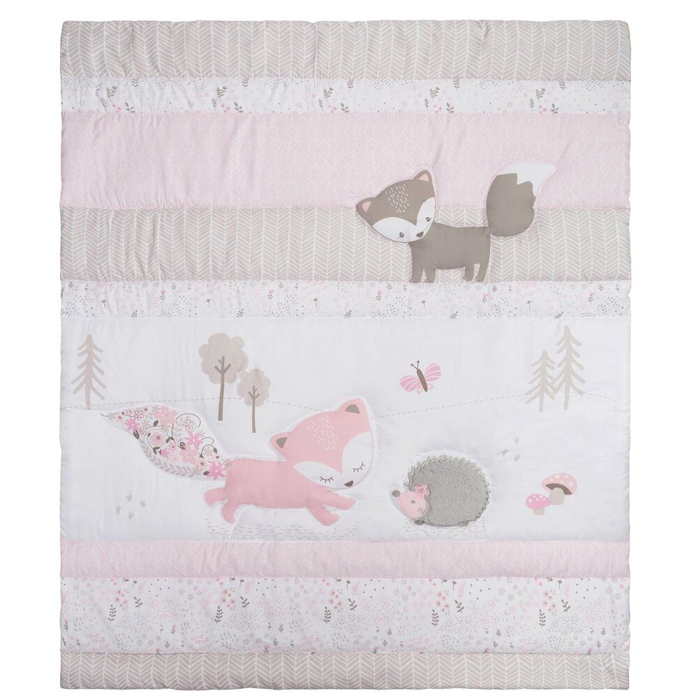 Trend Labs Lots of Fox 4-Piece Crib Bedding Set, , large