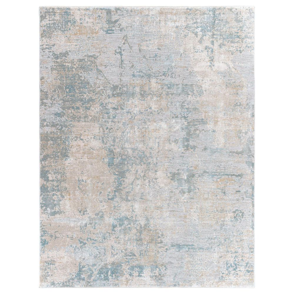 "Surya Brunswick 10"" x 14"" Sage, Gray, White and Blue Area Rug, , large"