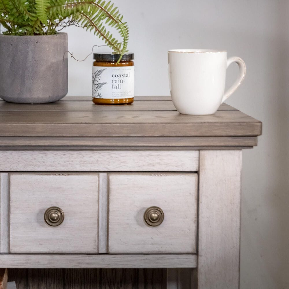 Belle Furnishings Heartland 1 Drawer Nightstand in Antique White, , large