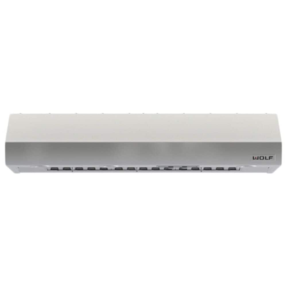 """Wolf 48"""" Low Profile Wall Hood in Stainless Steel, , large"""