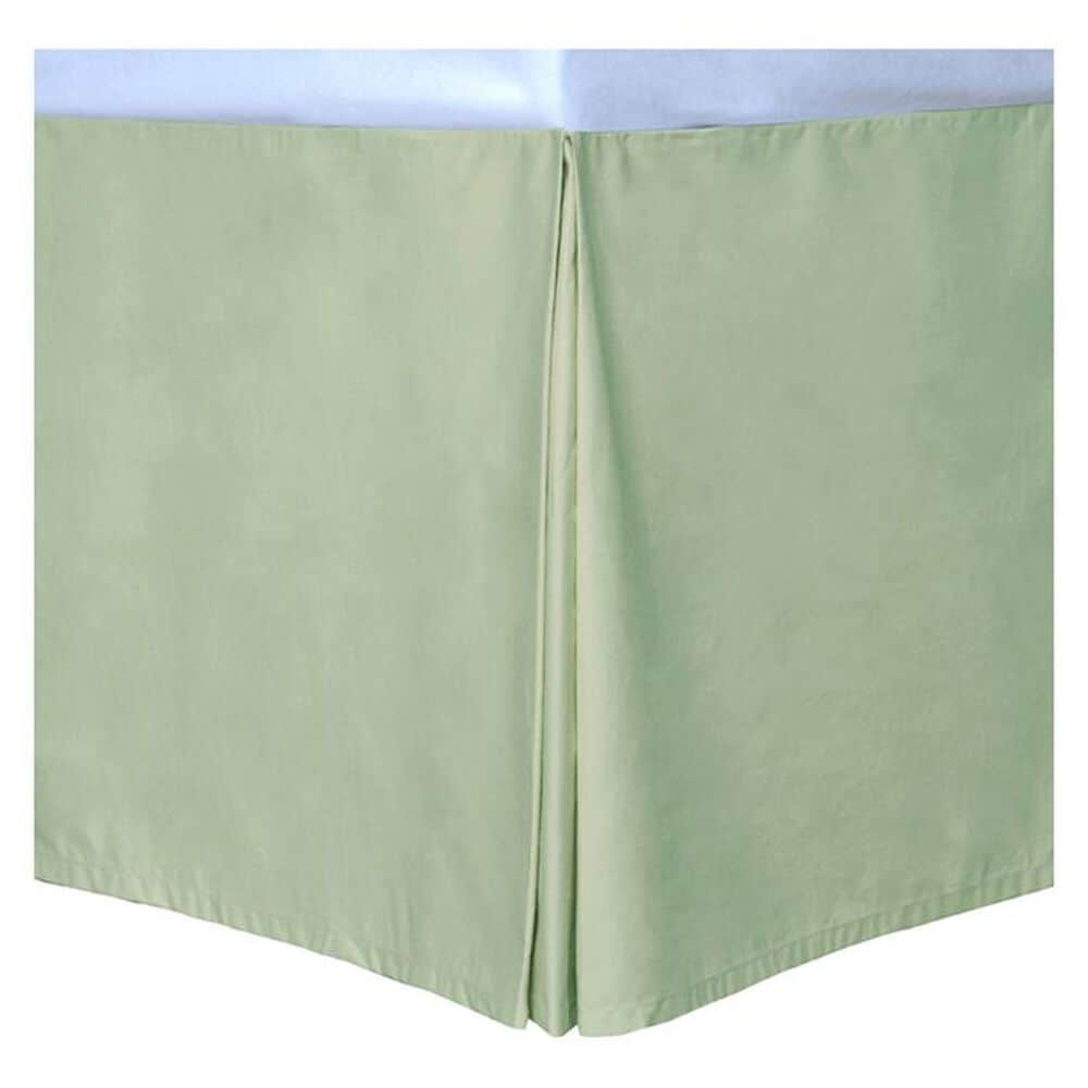 Epoch Hometex Cotton Loft Colors Full Bed Skirt in Sage, , large