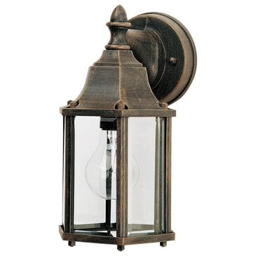 Maxim Lighting Builder 1-Light Outdoor Wall Lantern in Rust Patina, , large