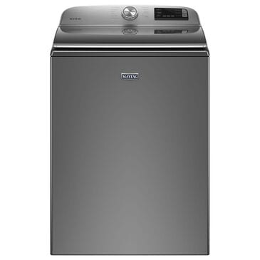 Maytag 4.7 Cu. Ft. Top Load Washer with Agitator in Metallic Slate, , large